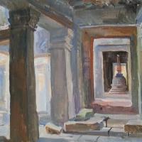 Artist view of Angkor Wat Temples