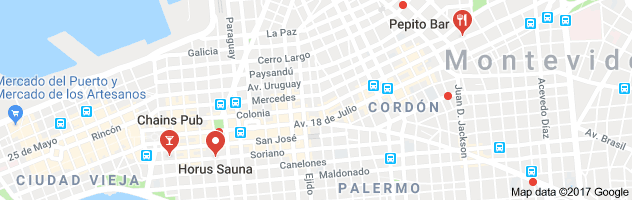 gay Montevideo map