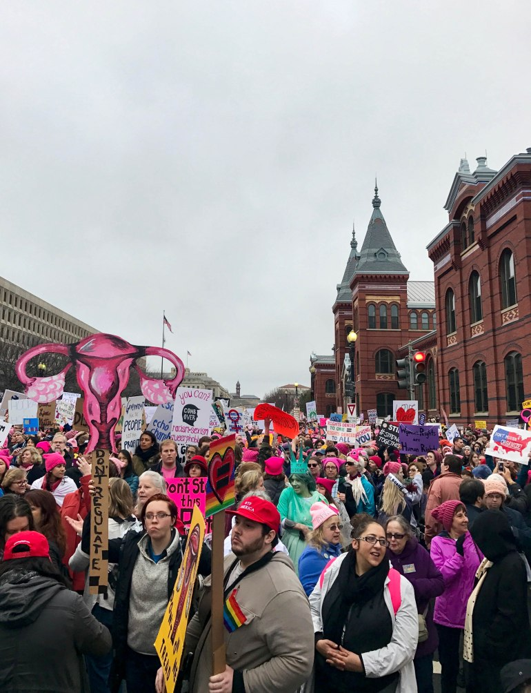 queer-travel-blog-womens-march-2